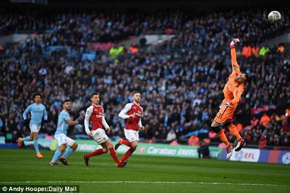 Truc tiep Arsenal vs Man City, link xem chung ket Cup Lien doan Anh 2018 hinh anh 2
