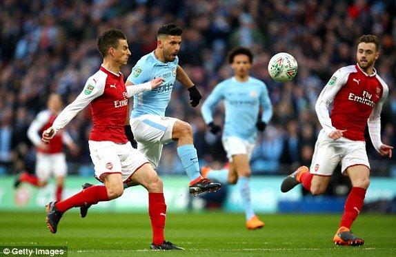 Truc tiep Arsenal vs Man City, link xem chung ket Cup Lien doan Anh 2018 hinh anh 1