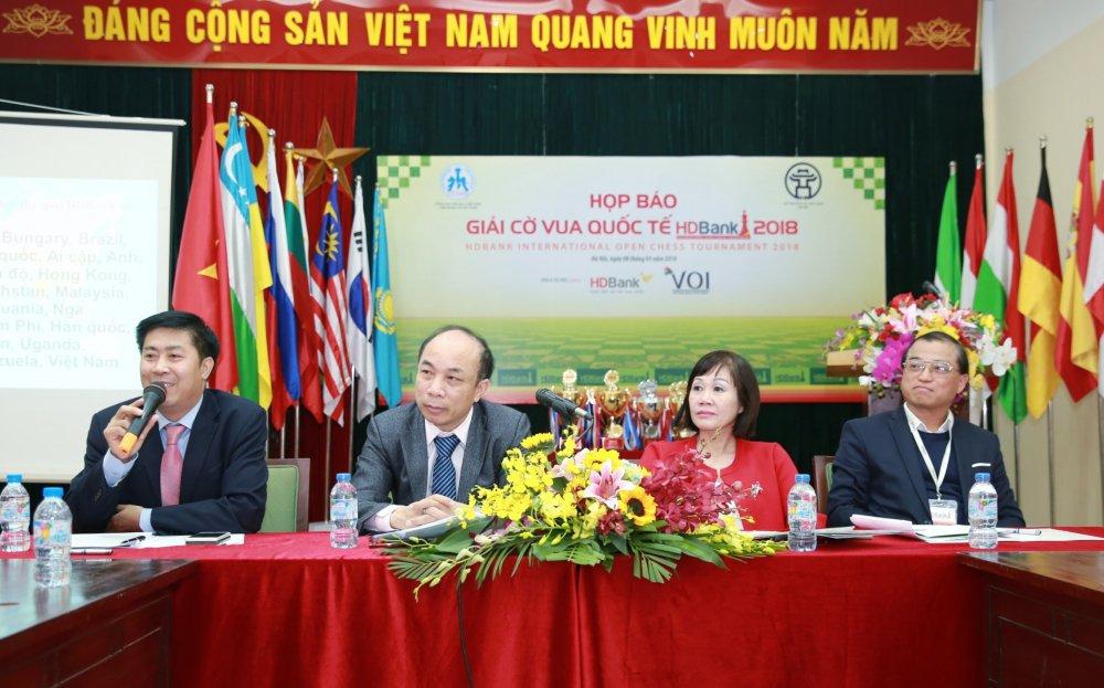 Co vua Quoc te HDBank 2018: Le Quang Liem quyet dau sieu Dai kien tuong quoc te Trung Quoc hinh anh 1