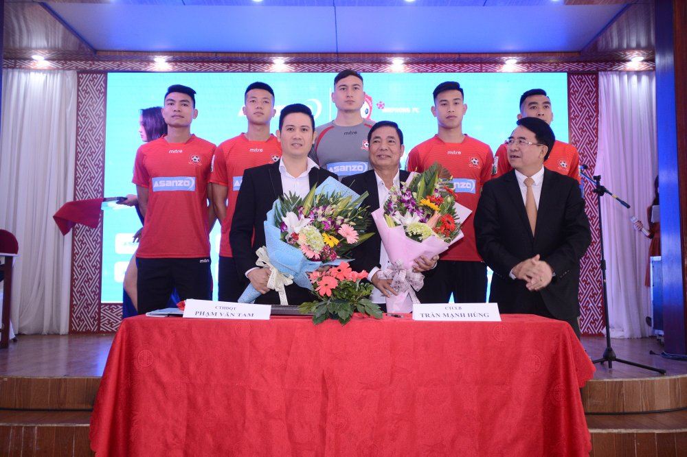 CLB Hai Phong co nha tai tro moi truoc ngay V-League 2018 khoi tranh hinh anh 1