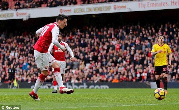 Truc tiep Arsenal vs Watford, link xem bong da Ngoai hang Anh vong 29 hinh anh 1