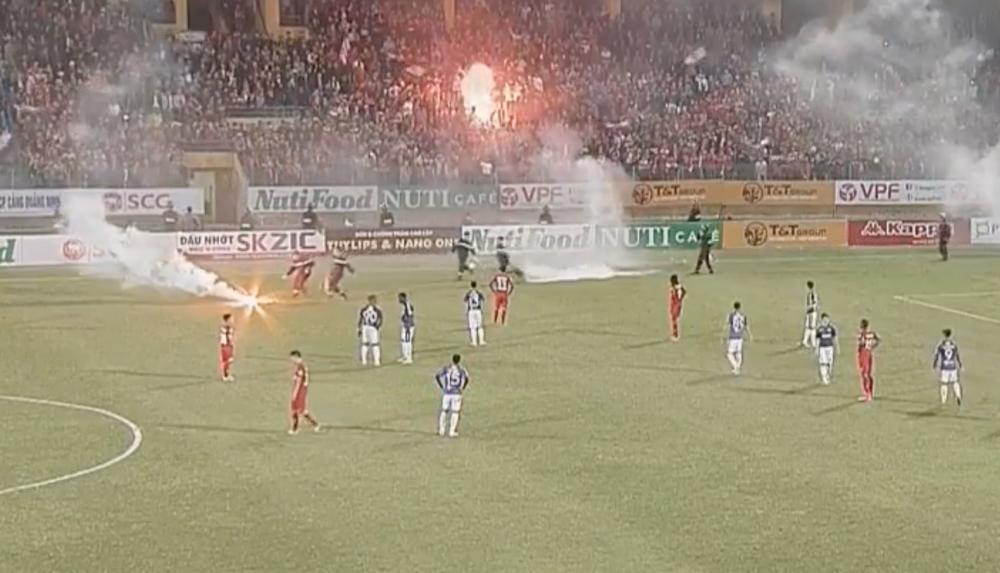 Video truc tiep Ha Noi vs Hai Phong vong 1 V-League 2018 hinh anh 1