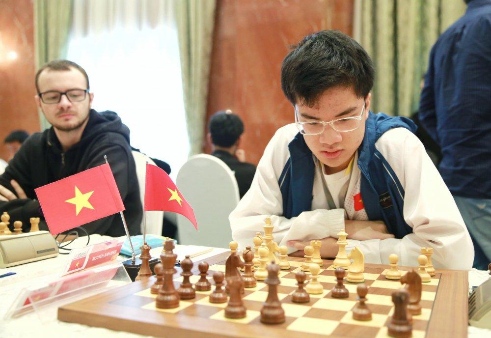 Giai Co vua Quoc teHDBank 2018: Ky thu Nga toan thang, Le Quang Liem tang toc hinh anh 2