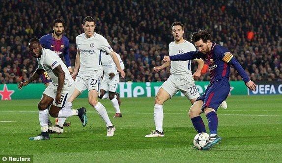 Video ket qua Barca vs Chelsea 3-0: Thien tai Messi huy diet Chelsea hinh anh 2