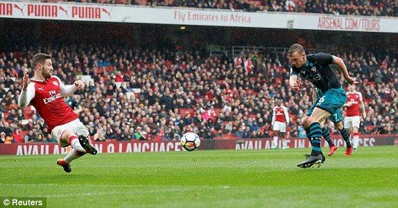 Truc tiep Arsenal vs Southampton, Link xem vong 33 Ngoai Hang Anh 2018 hinh anh 5