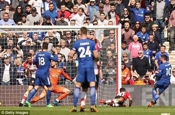 Truc tiep Southampton vs Chelsea, Link xem bong da Ngoai hang Anh 2018 hom nay hinh anh 1