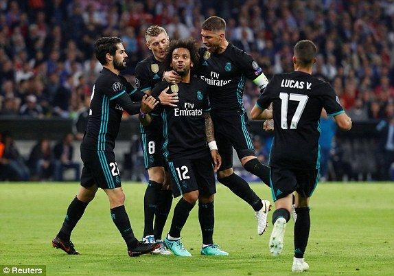 Truc tiep Bayern Munich vs Real Madrid, Link xem bong da Cup C1 2018 hom nay hinh anh 2
