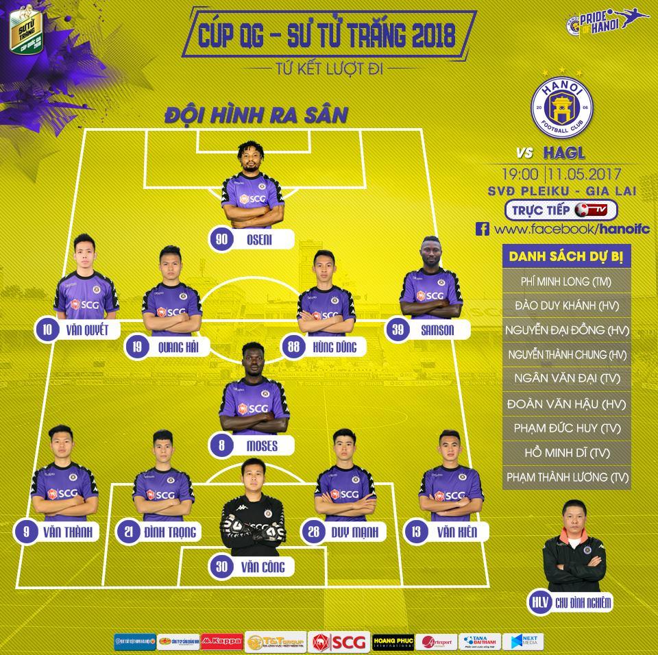 Truc tiep HAGL vs CLB Ha Noi, Link xem tu ket Cup Quoc gia 2018 hinh anh 2