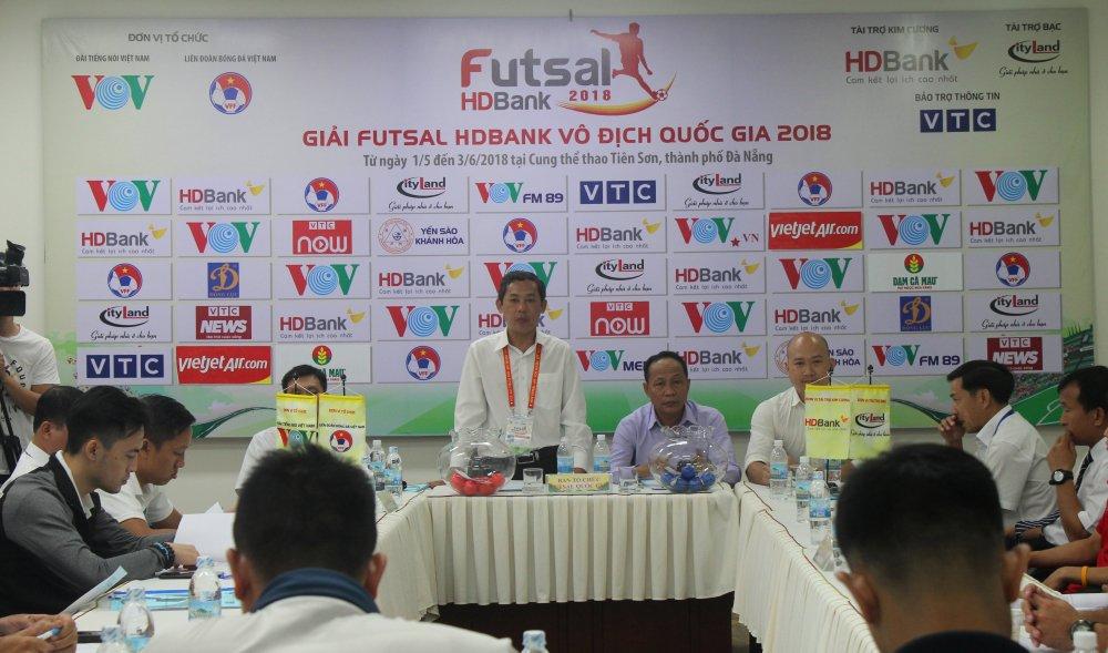 Futsal HDBank VDQG 2018: Xac dinh xong lich thi dau luot di hinh anh 1
