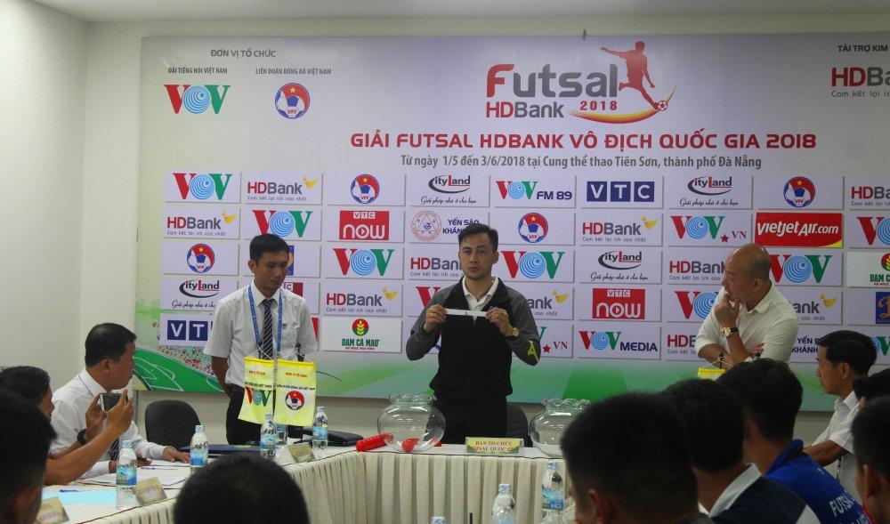 Futsal HDBank VDQG 2018: Xac dinh xong lich thi dau luot di hinh anh 2