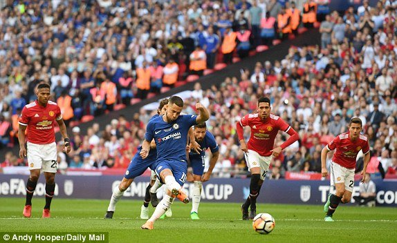 Truc tiep MU vs Chelsea, Link xem chung ket FA Cup 2018 hom nay hinh anh 1