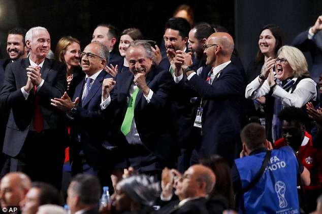 My, Canada va Mexico tro thanh dong chu nha World Cup 2026 hinh anh 1