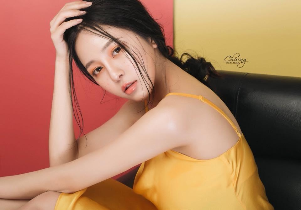 Dep ngay ngat, hot girl Tram Anh 'Nong cung World Cup' gay sot tren VTV hinh anh 7