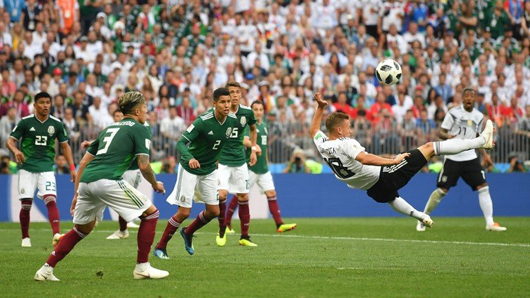 Video ket qua Duc vs Mexico: Tran dau lich su tai World Cup 2018 hinh anh 1