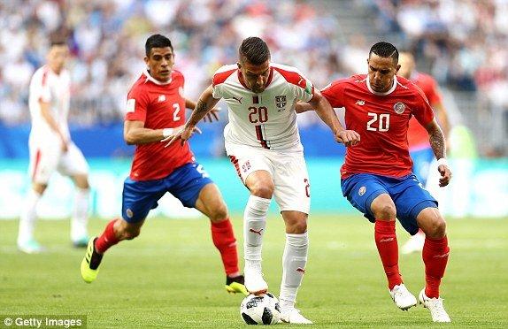 Video ket qua Costa Rica vs Serbia, bang E bong da World Cup 2018 hinh anh 5