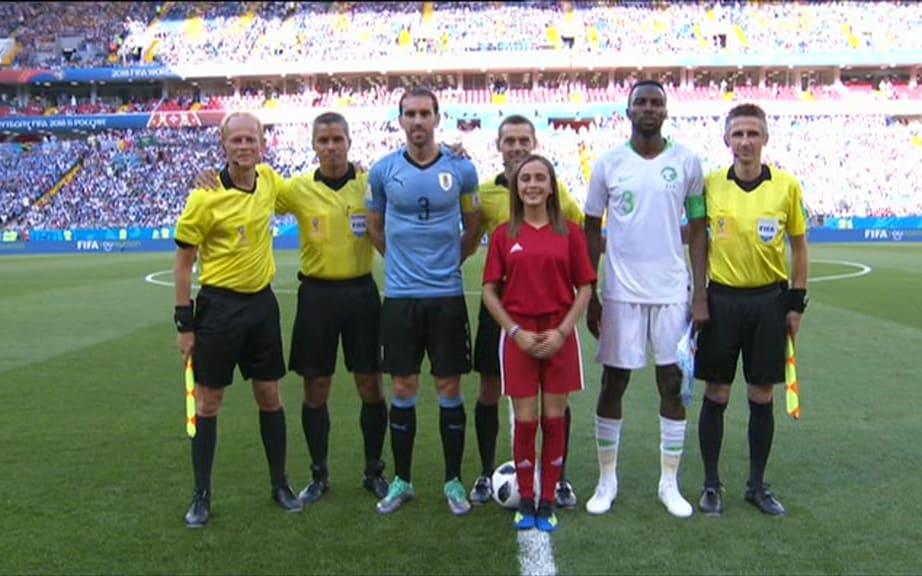 Video ban thang Uruguay vs A Rap Xe Ut, Bang A bong da World Cup 2018 hinh anh 7
