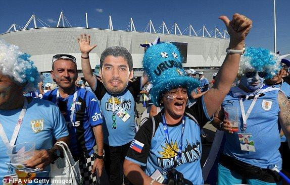 Video ban thang Uruguay vs A Rap Xe Ut, Bang A bong da World Cup 2018 hinh anh 13
