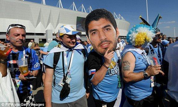 Video ban thang Uruguay vs A Rap Xe Ut, Bang A bong da World Cup 2018 hinh anh 11