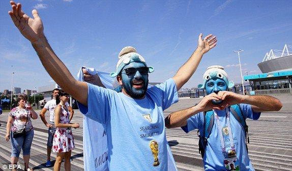 Video ban thang Uruguay vs A Rap Xe Ut, Bang A bong da World Cup 2018 hinh anh 12