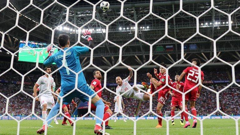 Video ban thang Tay Ban Nha vs Iran, Bang B bong da World Cup 2018 hinh anh 4