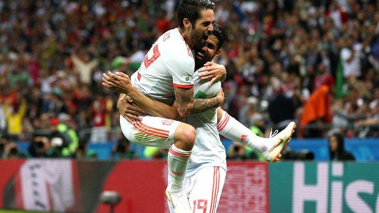 Video ban thang Tay Ban Nha vs Iran, Bang B bong da World Cup 2018 hinh anh 3