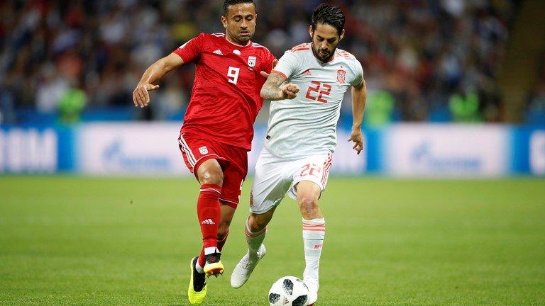 Video ban thang Tay Ban Nha vs Iran, Bang B bong da World Cup 2018 hinh anh 6