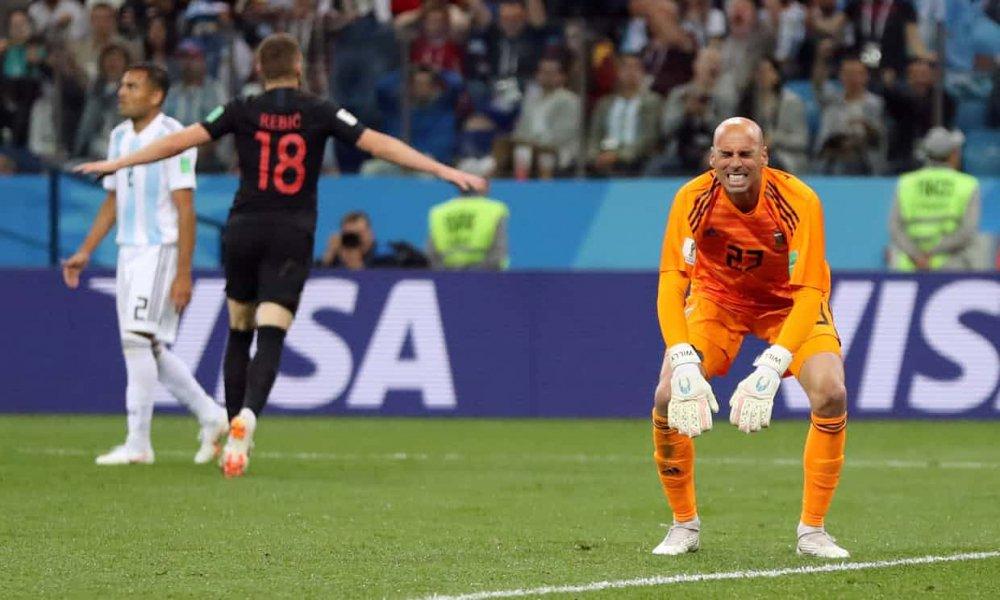 Video ban thang Argentina vs Croatia: Messi vo hai, Argentina thua tham 0-3 hinh anh 5