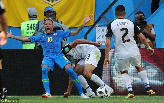Video ket qua Brazil vs Costa Rica 2-0: Neymar ghi ban o giay cuoi hinh anh 1