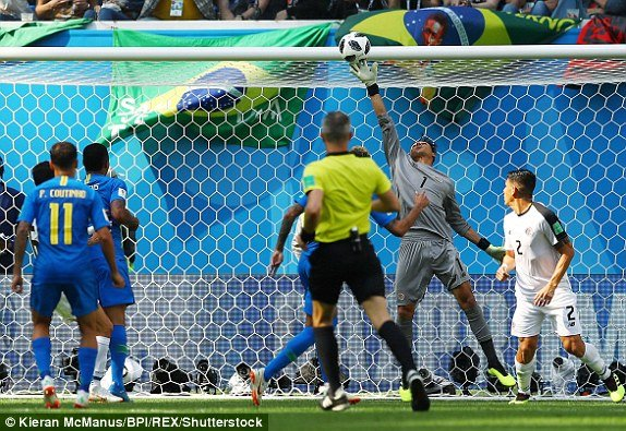 Video ket qua Brazil vs Costa Rica 2-0: Neymar ghi ban o giay cuoi hinh anh 3
