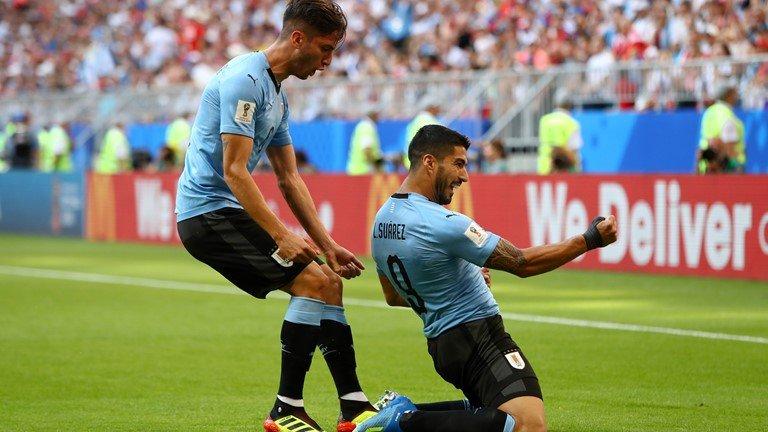 Video ket qua Nga vs Uruguay ty so 0-3: Ngoi dau bang A thuoc ve Uruguay hinh anh 8