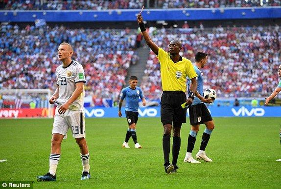 Video ket qua Nga vs Uruguay ty so 0-3: Ngoi dau bang A thuoc ve Uruguay hinh anh 5