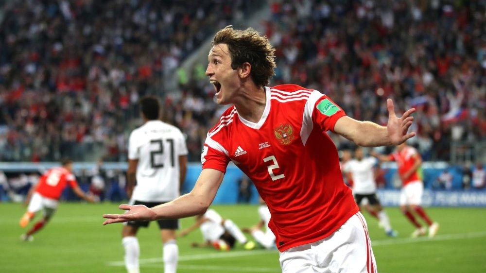 Video ket qua Nga vs Uruguay ty so 0-3: Ngoi dau bang A thuoc ve Uruguay hinh anh 14