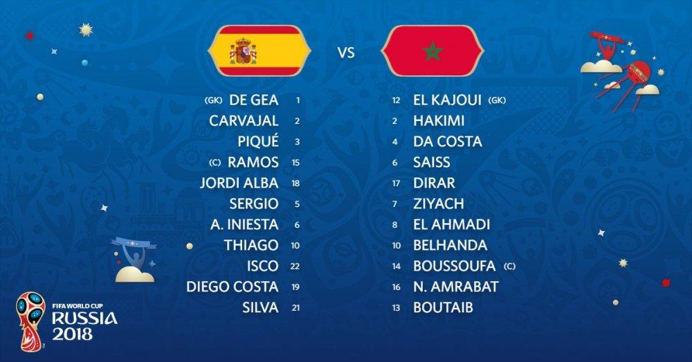 Video ket qua Tay Ban Nha vs Maroc ty so 2-2: VAR giup nguoi Tay Ban Nha hinh anh 13
