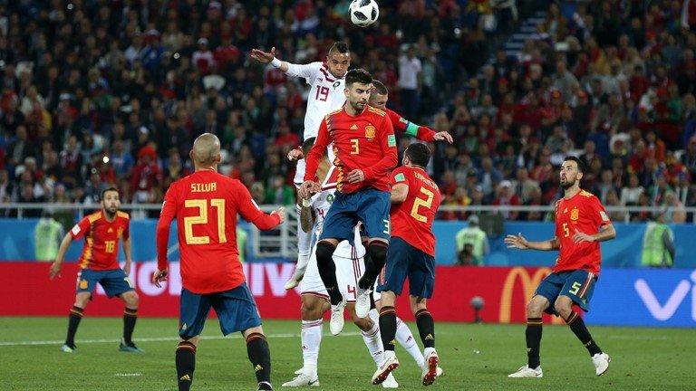 Video ket qua Tay Ban Nha vs Maroc ty so 2-2: VAR giup nguoi Tay Ban Nha hinh anh 1