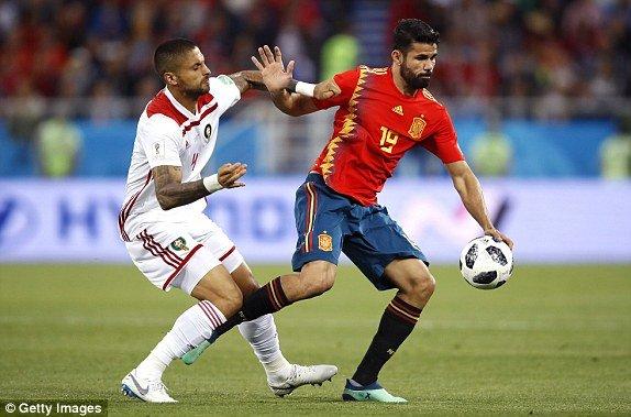 Video ket qua Tay Ban Nha vs Maroc ty so 2-2: VAR giup nguoi Tay Ban Nha hinh anh 11