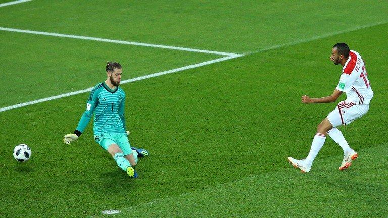 Video ket qua Tay Ban Nha vs Maroc ty so 2-2: VAR giup nguoi Tay Ban Nha hinh anh 9