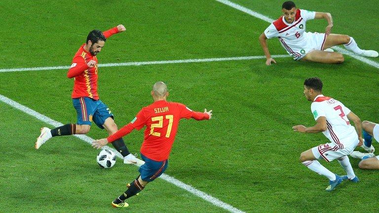 Video ket qua Tay Ban Nha vs Maroc ty so 2-2: VAR giup nguoi Tay Ban Nha hinh anh 8