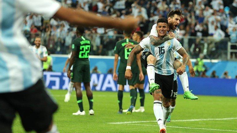 Video ket qua Argentina vs Nigeria: Thoat cua tu ngoan muc hinh anh 2