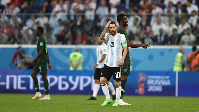 Video ket qua Argentina vs Nigeria: Thoat cua tu ngoan muc hinh anh 4