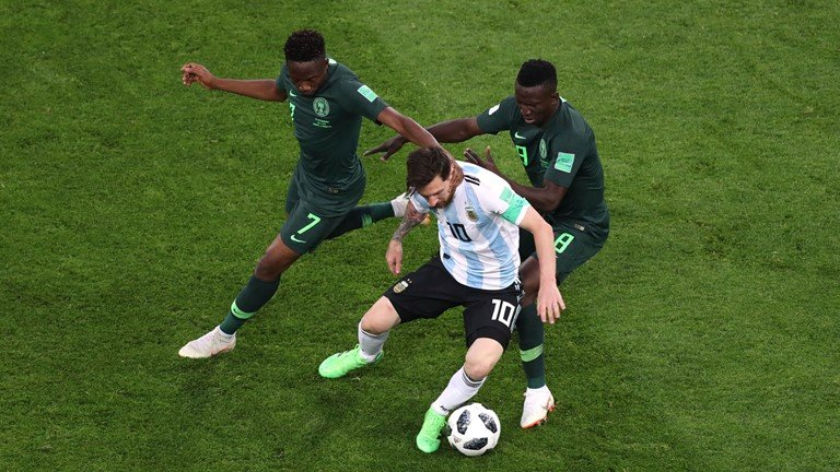 Video ket qua Argentina vs Nigeria: Thoat cua tu ngoan muc hinh anh 3