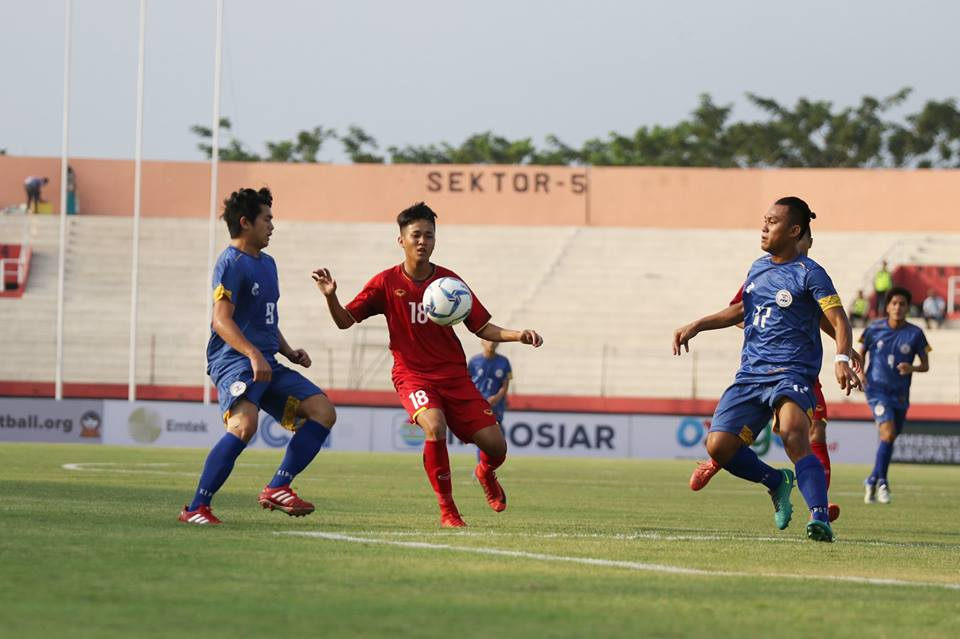 Truc tiep U19 Viet Nam vs U19 Philippines VCK U19 Dong Nam A hinh anh 1