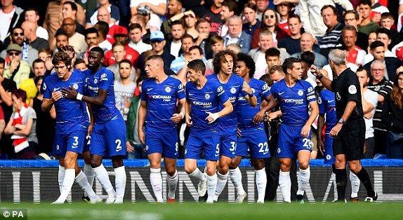 Truc tiep Chelsea vs Arsenal, dai chien vong 2 Ngoai hang Anh 2018 hinh anh 6