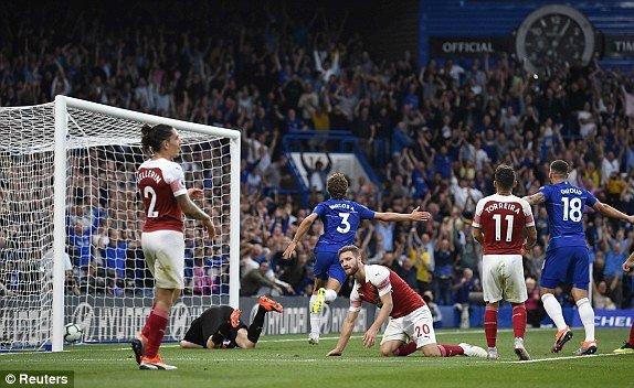Truc tiep Chelsea vs Arsenal, dai chien vong 2 Ngoai hang Anh 2018 hinh anh 2