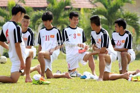 U19 Việt Nam đang được