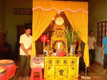Đám tang của emPhạm Võ Thanh Tuấn (khu phố 3, thị trấn Dầu Tiếng)