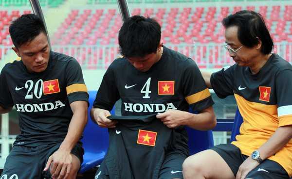 Giấc mơ SEA Games đã khép lại với Thanh Hào theo cách đáng tiếc nhất.