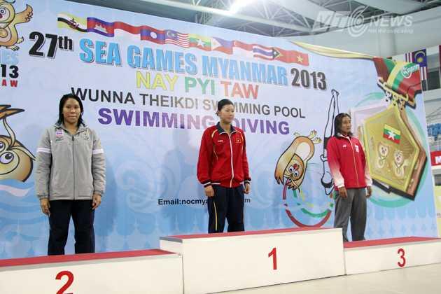 Ánh Viên giành HCV đầu tiên cho bơi lội Việt Nam