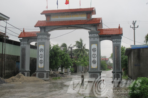 Làng Kinh Triều, quê hương của băng cướp