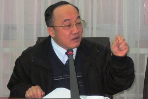 Ông Đỗ Thanh Sơn – Giám đốc Trung tâm lý lịch tư pháp quốc gia, Tổ trưởng Tổ triển khai đề án về xử lý vi phạm hành chính. Ảnh: Nguyễn Dũng