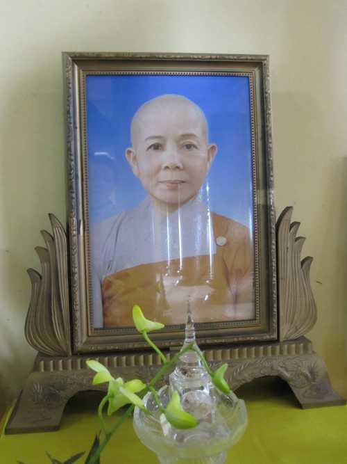 Di ảnh của cô Huệ Thanh